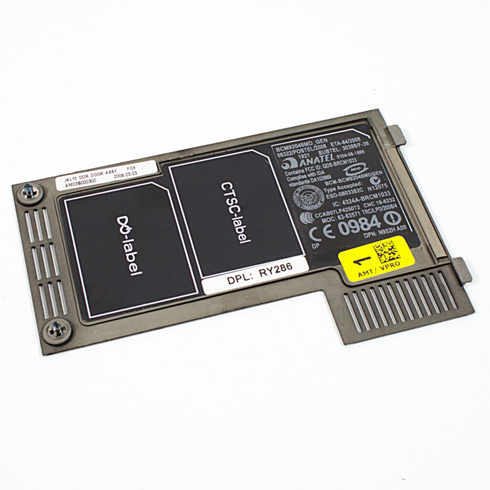 Dell Latitude E4300 - Notebook Speicher Abdeckung AM03S000300