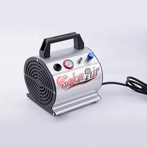 Mini Airbrush Kompressor AS-176 Luftkompressor für Spritzpistole Lackierpistole