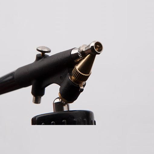 Airbrush Pistole BD-138 Komplett Set Spritzpistole Lackierpistole mit 0.8mm Düse