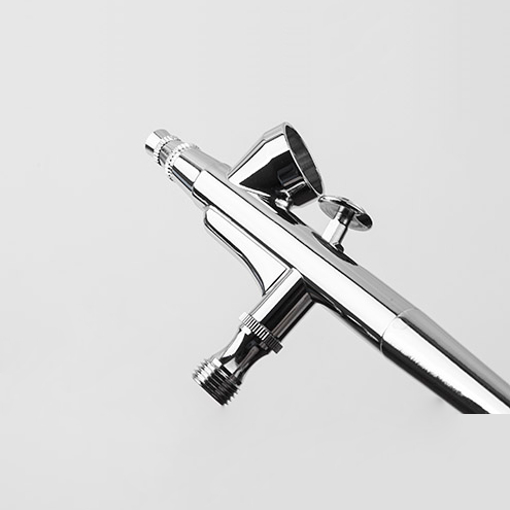 Airbrush Pistole Double-Action BD-207K Komplett Set Spritzpistole Lackierpistole