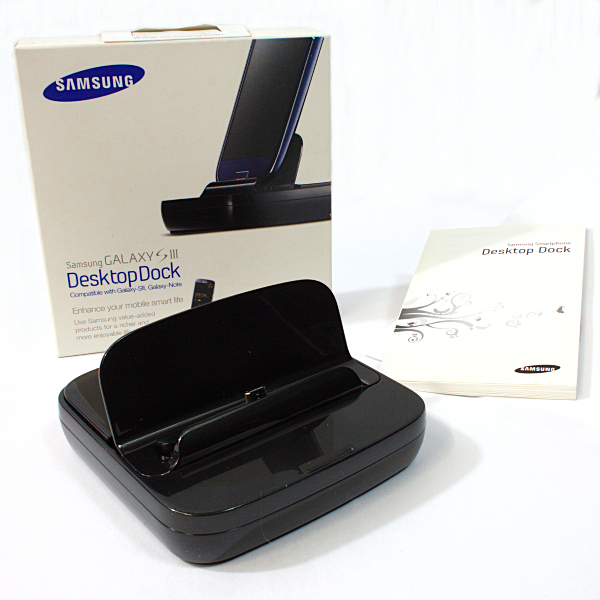 Original Samsung Dockingstation Galaxy S4 S3 Dock EDD-D200BE i9500