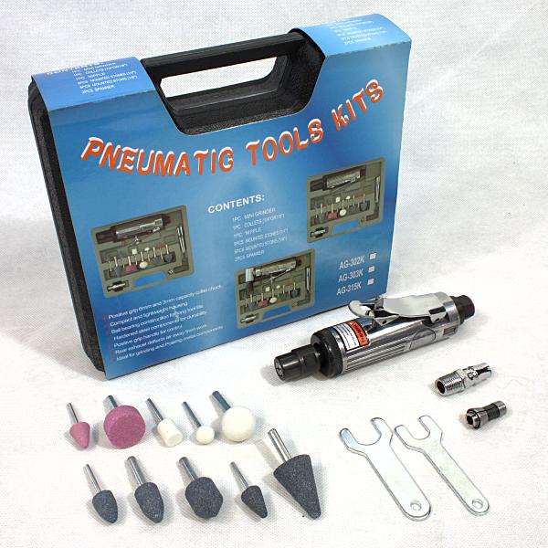Druckluft Schleifer AT-7032K  Stabschleifer Schleifmaschine Multischleifer / 0696007710709