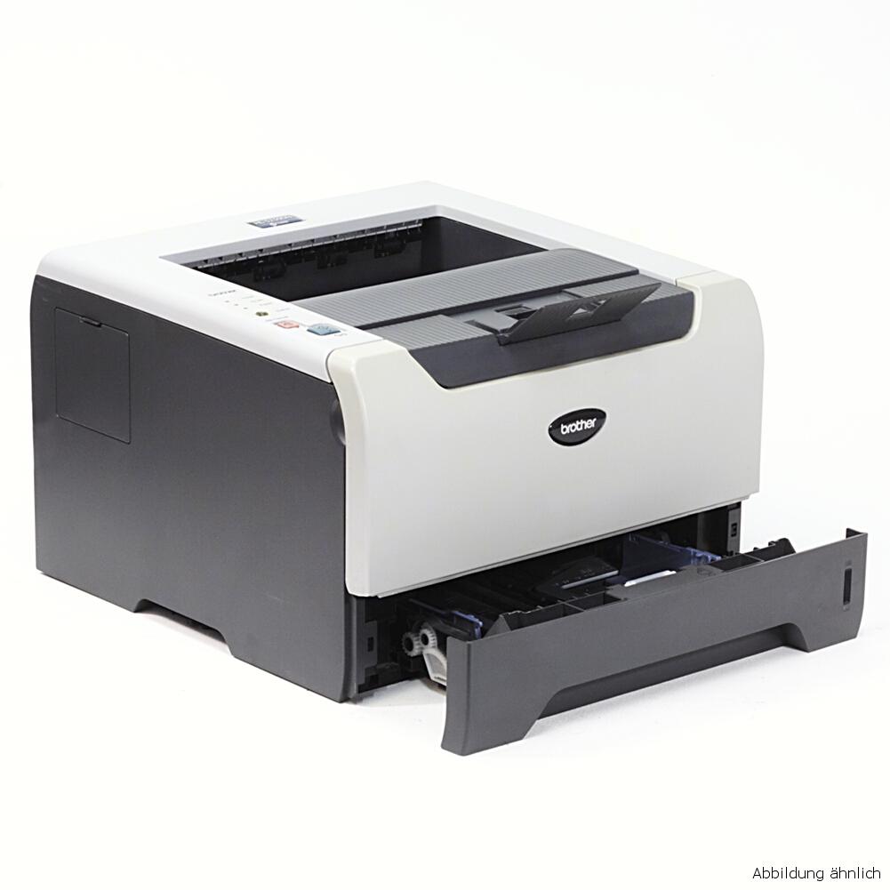 Brother HL-5250DN Drucker Netzwerk Laserdrucker gebraucht unter 20.000 Seiten