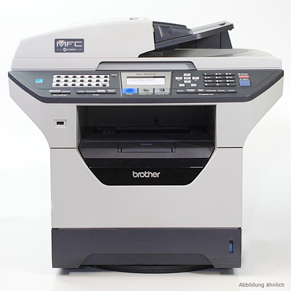 Brother Drucker MFC-8460N Laserdrucker Kopierer Scanner Fax gebraucht