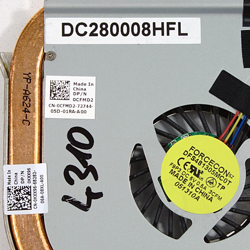 Dell Latitude 4310 Lüfter 0CFMD2 Kühler / 0CFMD2
