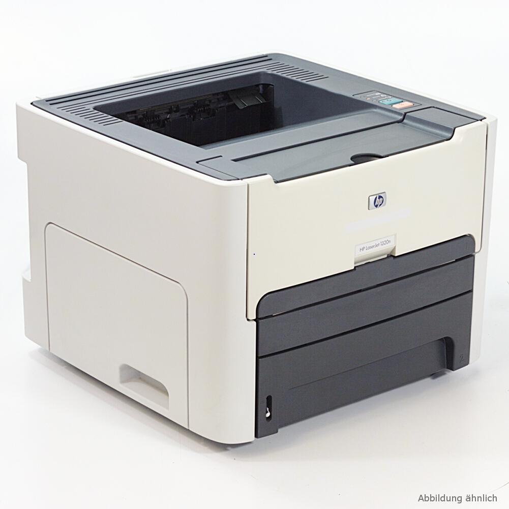 HP Laserjet 1320 Drucker Duplex Laserdrucker gebraucht unter 50.000 Seiten gedruckt