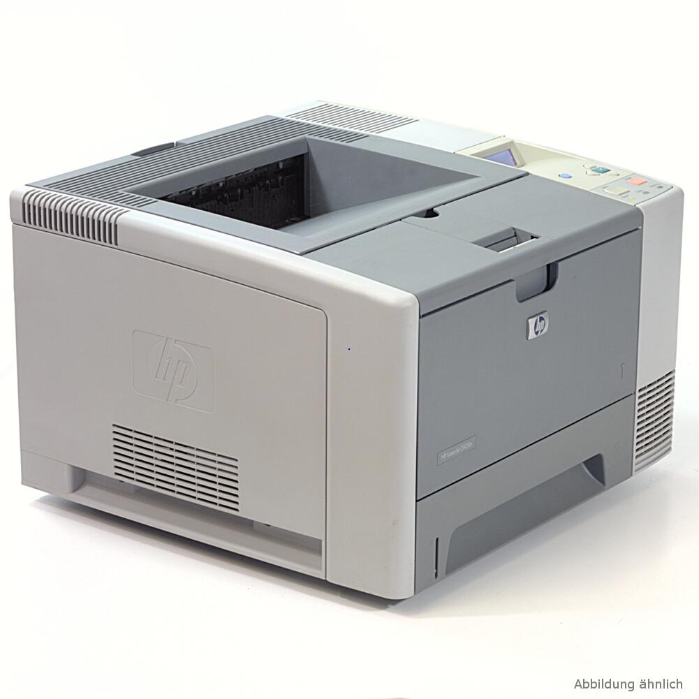 HP Drucker 2420DN Laserjet Netzwerk Duplex Laaserdrucker gebraucht unter 75.000 Seiten gedruckt