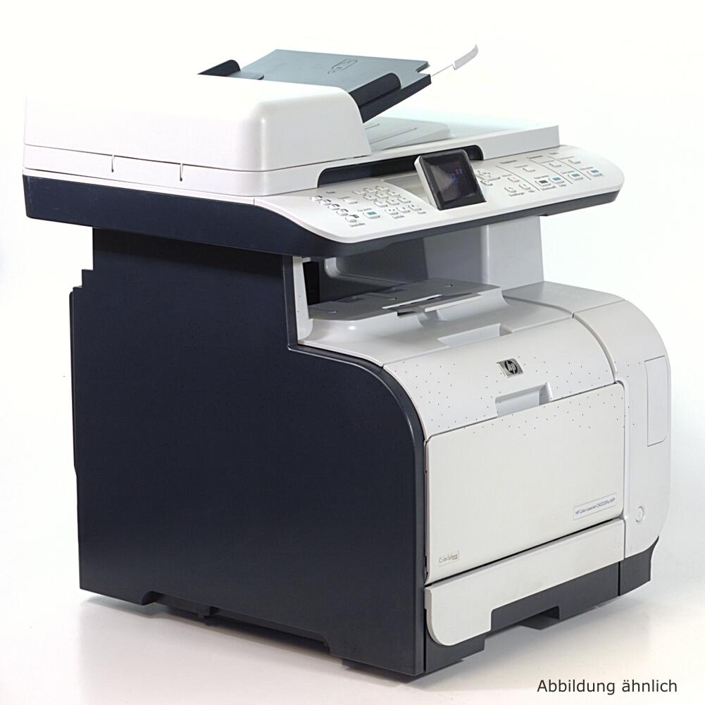 hp cm2320nf color drucker laserjet laserdrucker kopierer scanner fax ebay. Black Bedroom Furniture Sets. Home Design Ideas