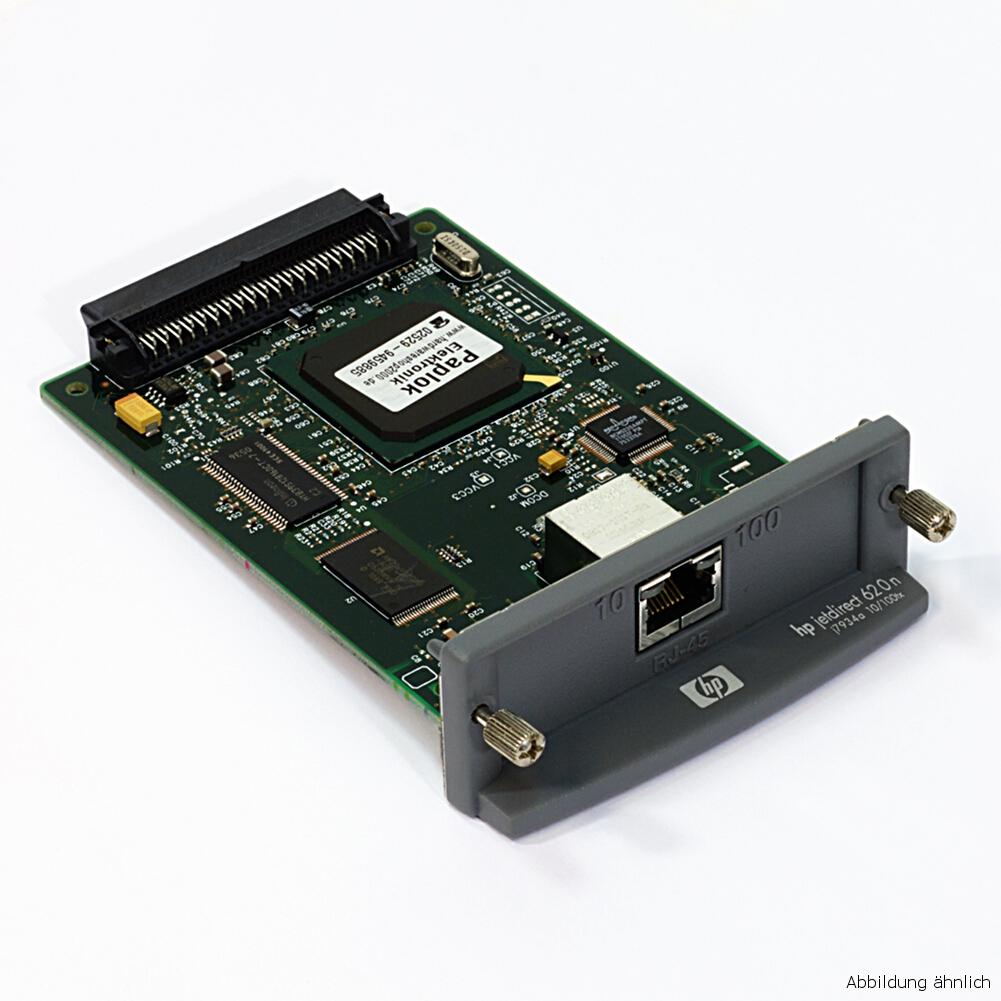 HP Jetdirect 620n J7934G  Drucker EIO Netzwerkkarte Printserver RJ-45