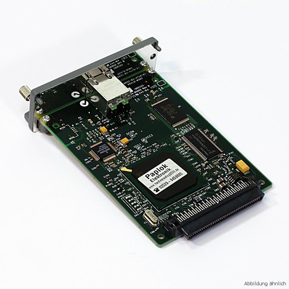 HP Jetdirect 620n J7934A  Drucker EIO Netzwerkkarte Printserver RJ-45 gebraucht
