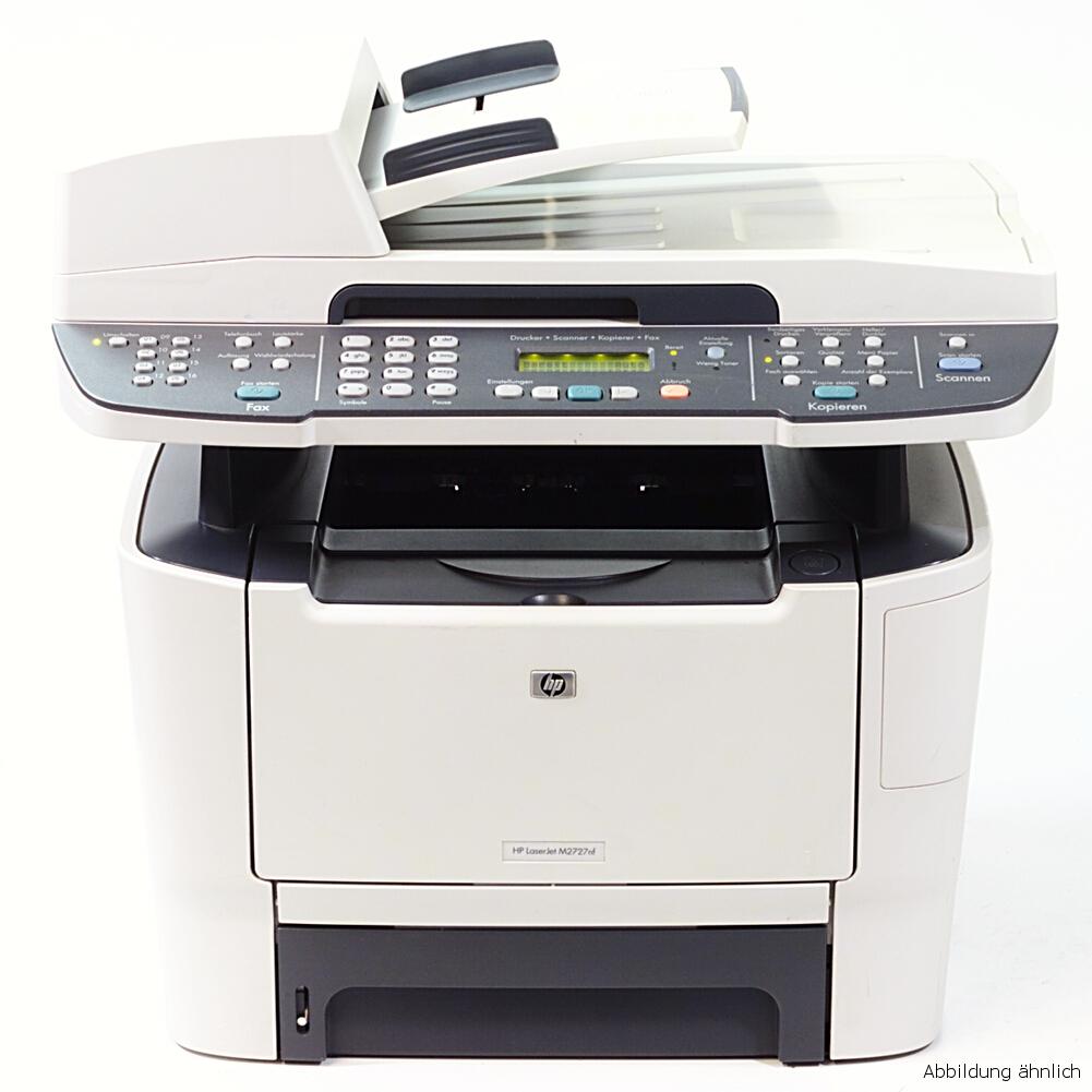 HP Drucker M2727NF Laserjet  Multifunktionsgerät Kopierer Scanner Fax gebraucht