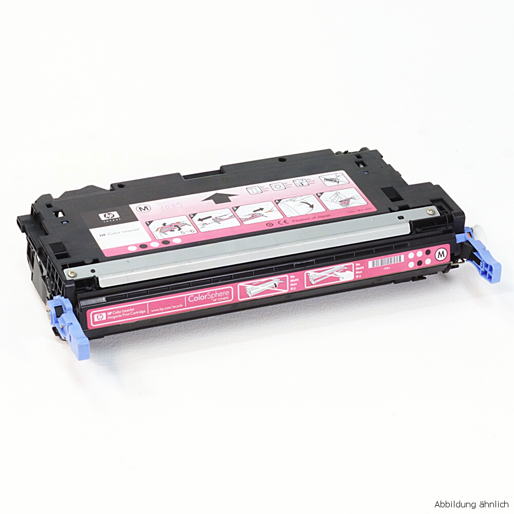 HP Original Toner 314A Magenta Q7563A für Drucker 2700 2700N 3000 / 33% Toner