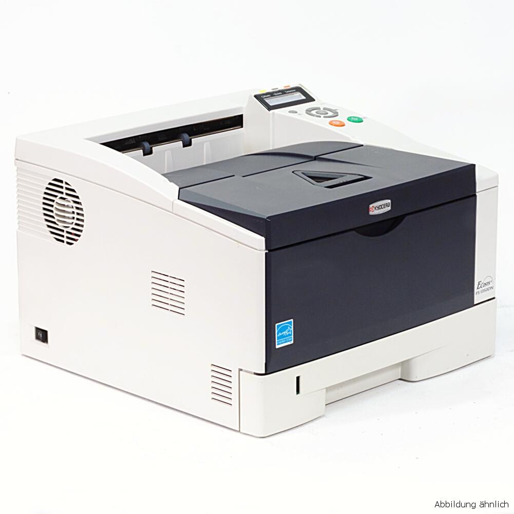 Kyocera Drucker FS-1350DN Laserdrucker mit Duplex Netzwerk unter 30.000 Seiten