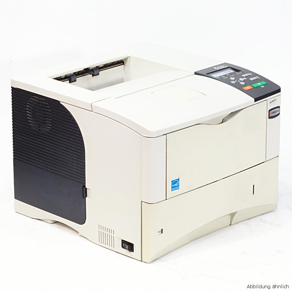 Kyocera Drucker FS-2000DN Laserdrucker mit Duplex Netzwerk gebraucht unter 150.000 Seiten gedruckt