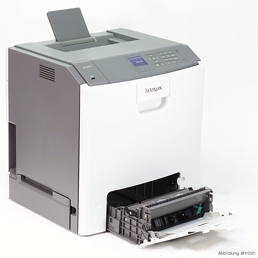 Lexmark Netzwerk Color Drucker C746DN Duplex Laserdrucker 14474 Seiten