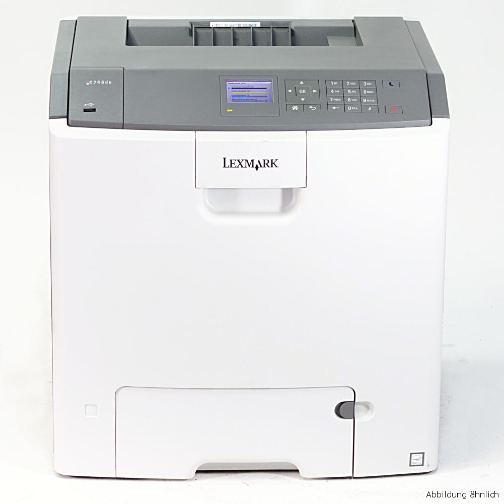 Lexmark C736DN Color Drucker Laserdrucker gebraucht 849159 Seiten