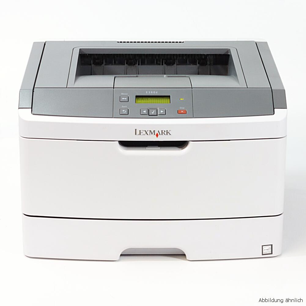 Lexmark Drucker E360D Laserdrucker gebraucht unter 20.000 Seiten