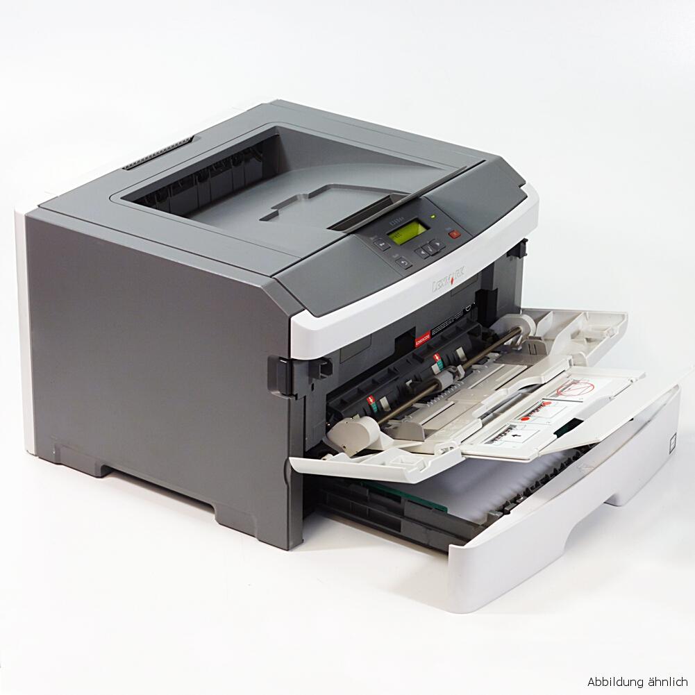 Lexmark E360DN Drucker Netzwerk Duplex Laserdrucker gebraucht unter 40.000 Seiten gedruckt