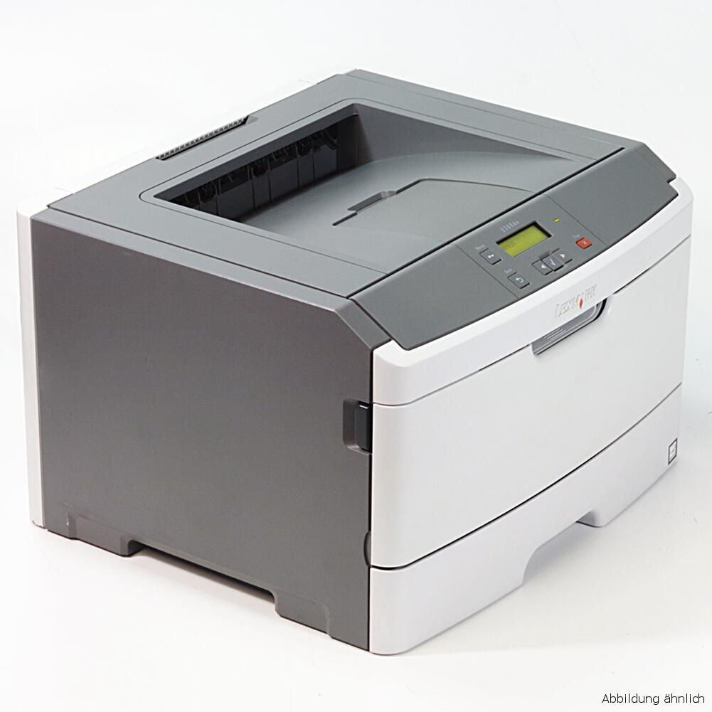Lexmark E360DN Drucker Netzwerk Duplex Laserdrucker gebraucht unter 30.000 Seiten gedruckt