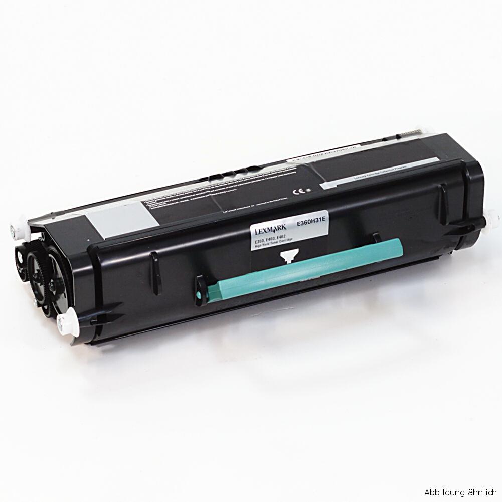 Lexmark Original Toner Black Schwarz E360H31E Drucker E360 E460 E460DW E462 / 90% Toner