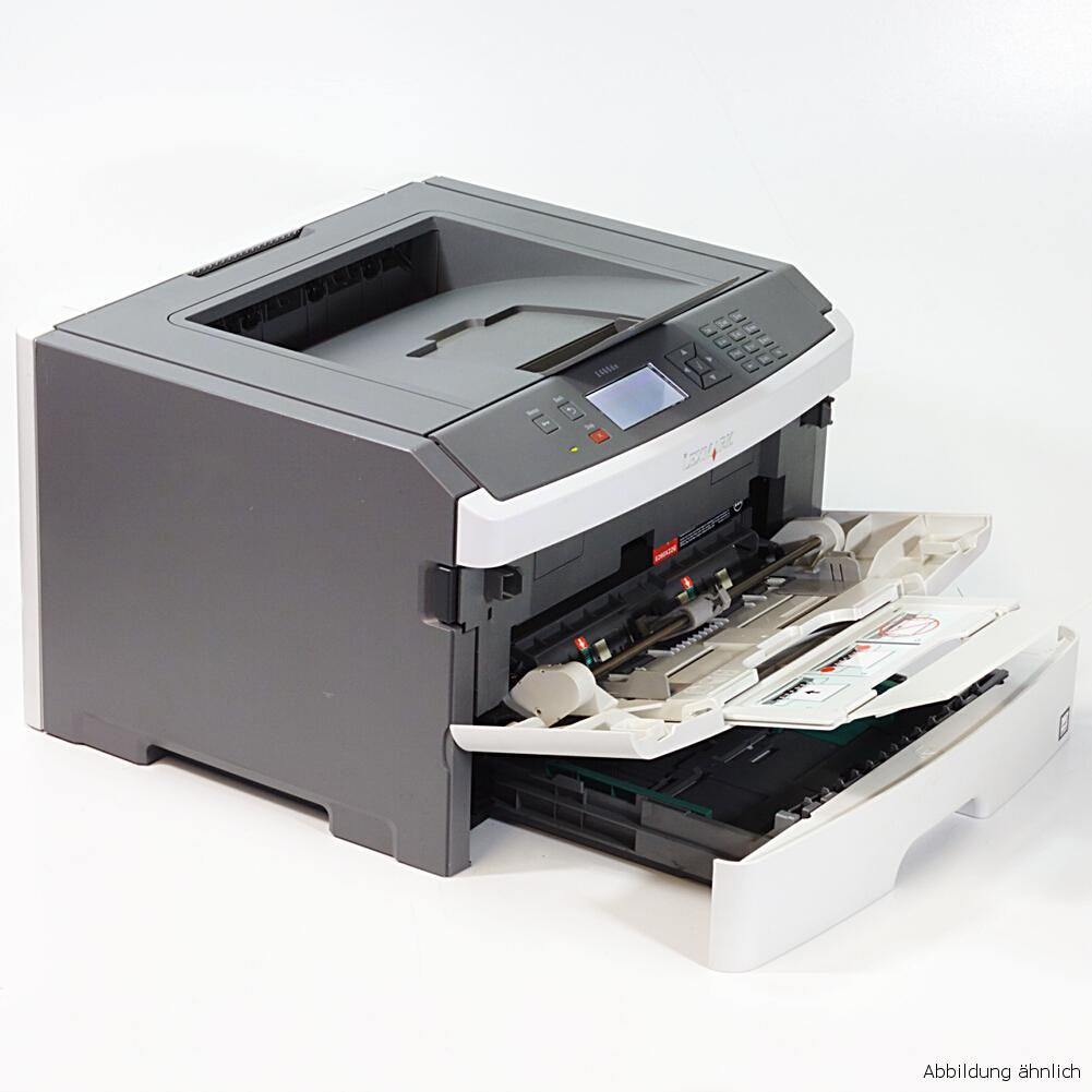 Lexmark Drucker E460DN Laserdrucker mit Duplex Netzwerk