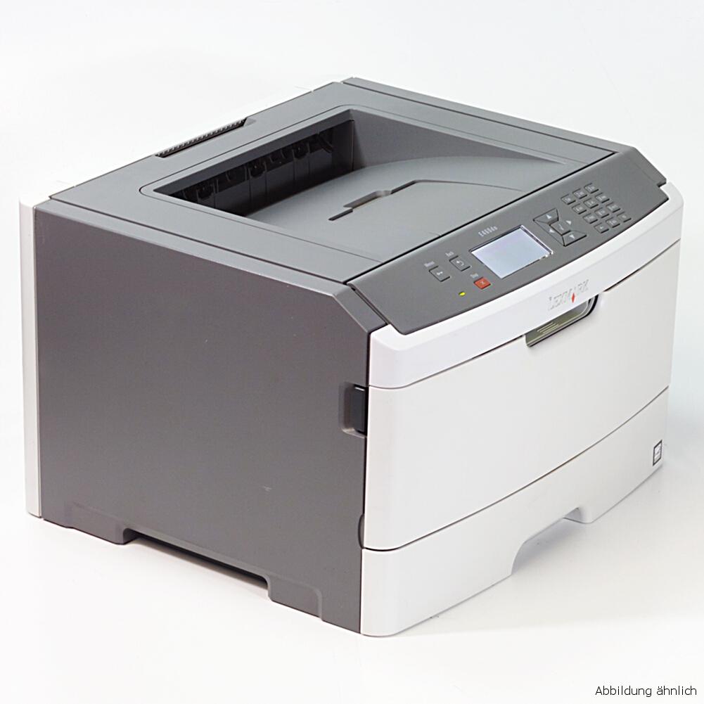 Lexmark Drucker E460DN Netzwerk Laserdrucker gebraucht unter 30.000 Seiten gedruckt