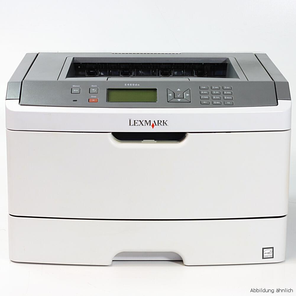 Lexmark Drucker E460DN Netzwerk Laserdrucker gebraucht unter 20.000 Seiten