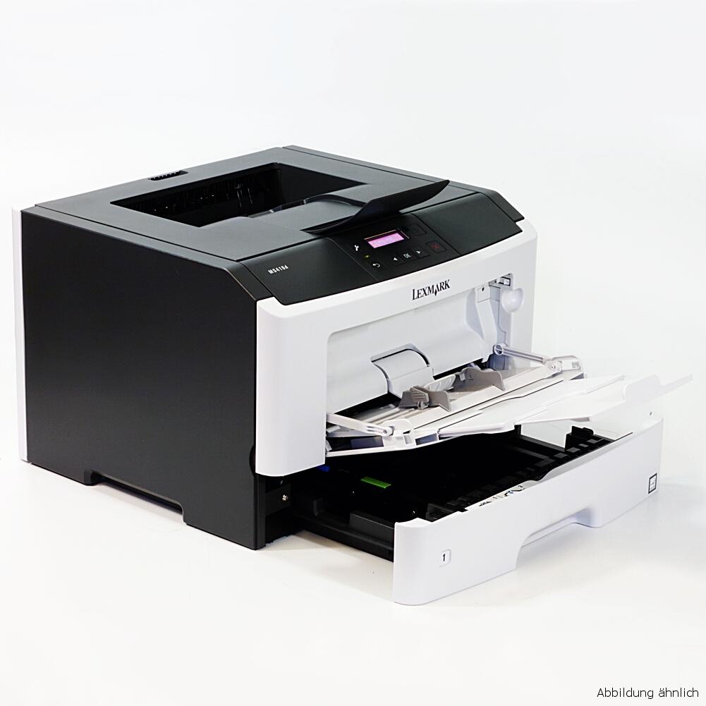 Lexmark Drucker MS410D Laserdrucker mit Duplex