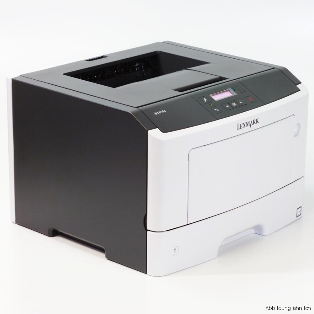 Lexmark Drucker MS410D Laserdrucker gebraucht unter 5.000 Seiten