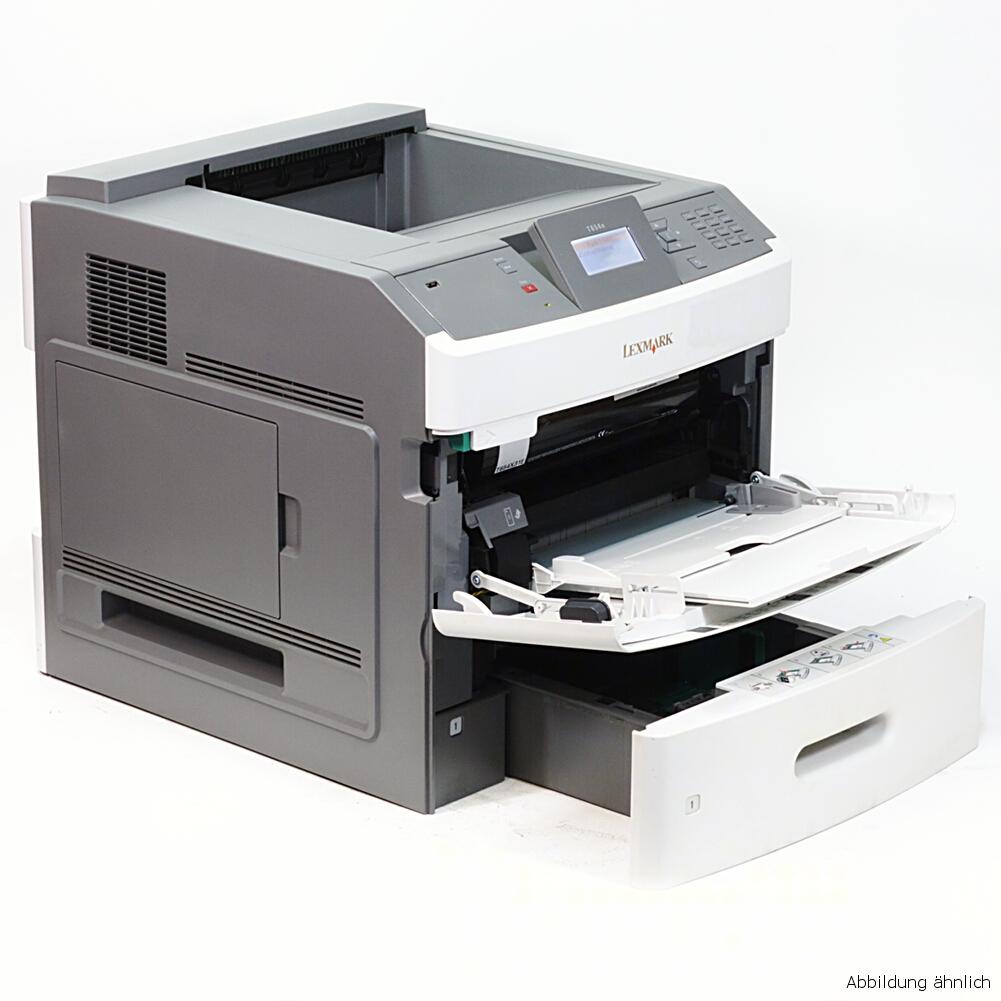 Lexmark Drucker T654DN Laserdrucker mit Netzwerk gebraucht nicht zutreffend