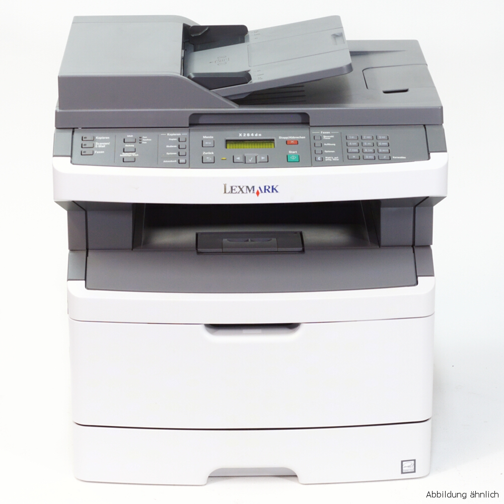 Lexmark Multifunktionsgerät X364DN Drucker Kopierer Scanner Fax gebraucht /  108570