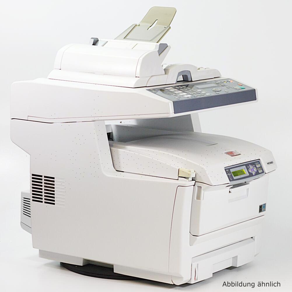 OKI MC560DN  Drucker Laserdrucker Kopierer Scanner Fax gebraucht /  120980 seiten