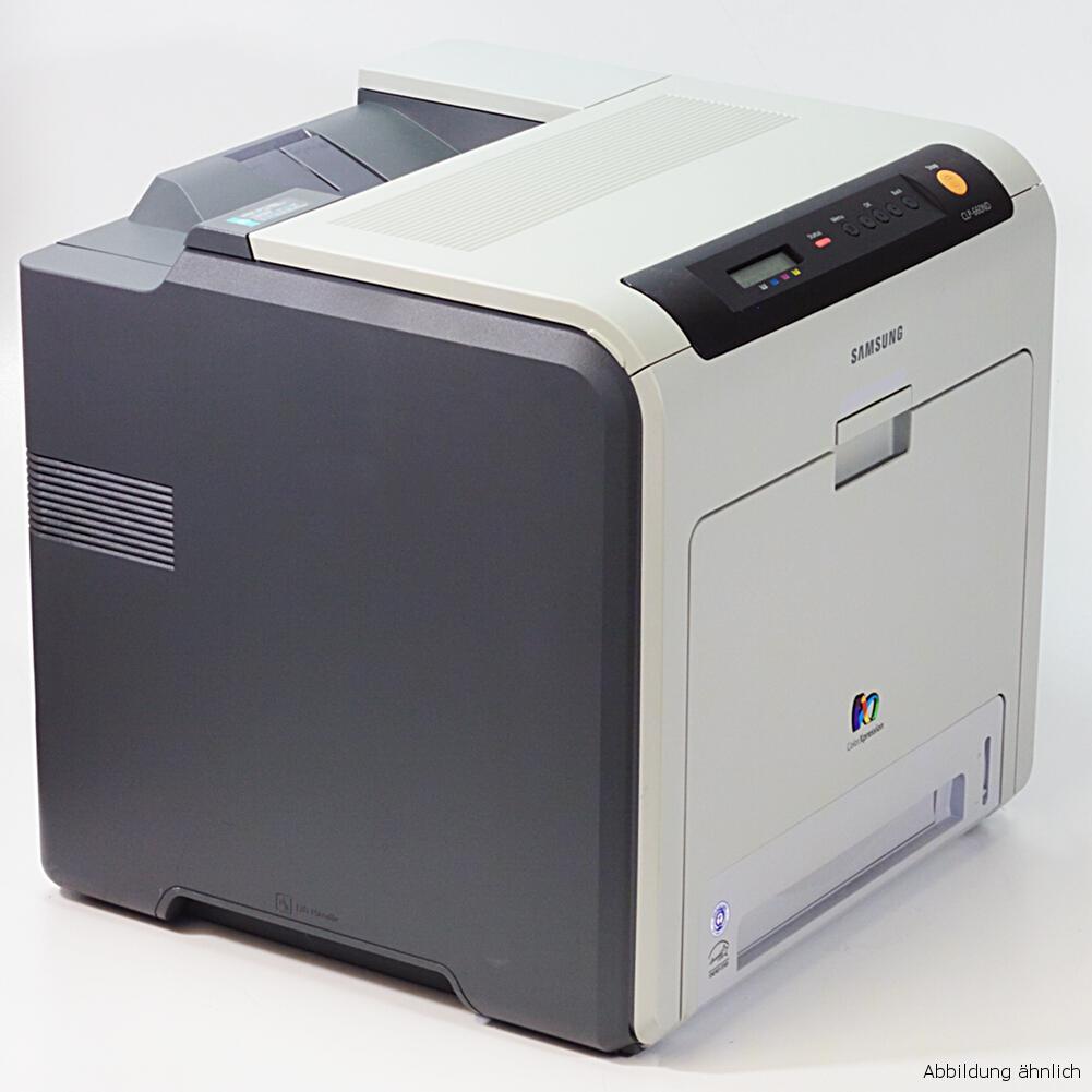 Samsung Drucker CLP-660ND Color Laserdrucker gebraucht 34870 Seiten