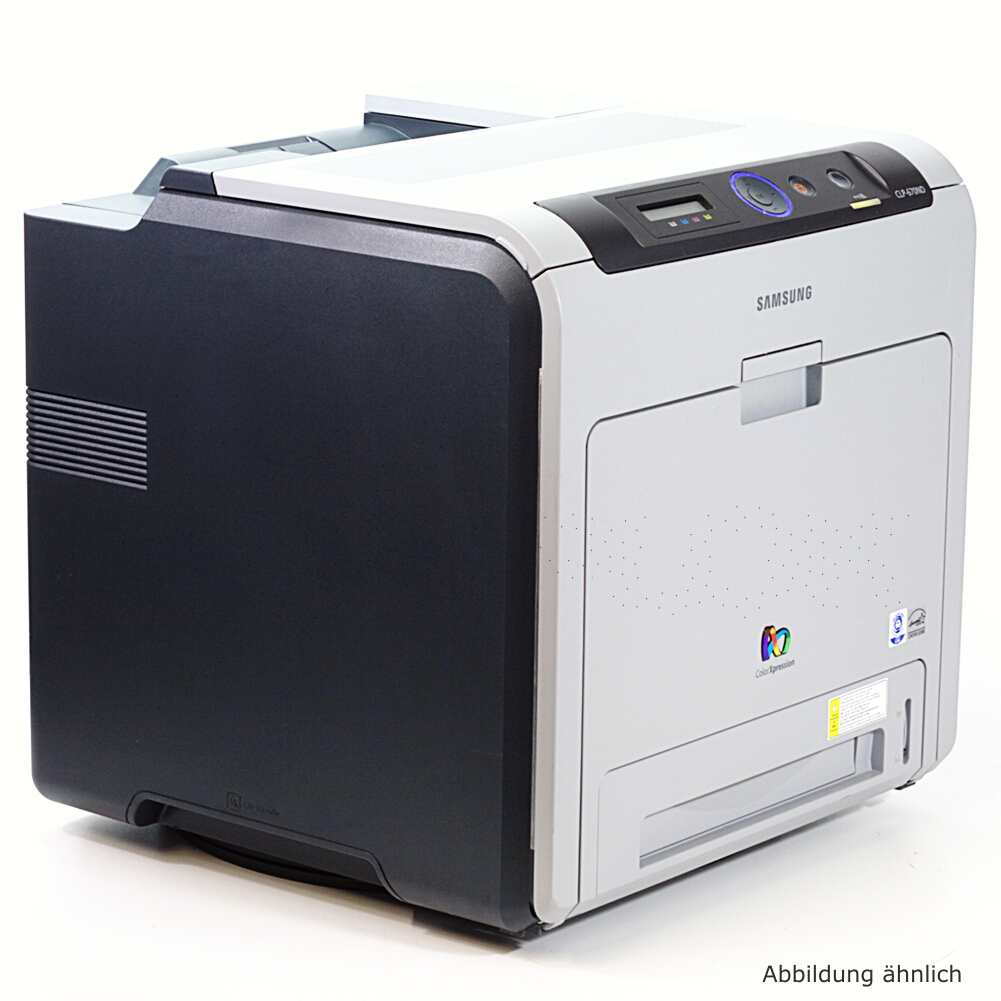 Samsung CLP-670ND Drucker Netzwerk  Duplex Laserdrucker gebraucht 66090 Seiten