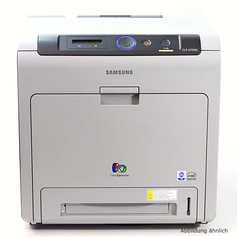 Samsung CLP-670ND Drucker Netzwerk  Duplex Laserdrucker gebraucht 19558