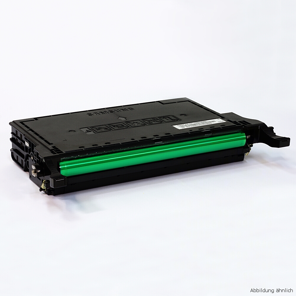 Samsung Original Toner Black Schwarz CLP-Y660B Drucker CLP-610 CLP-660 CLX-6210 6240 / 65% Toner