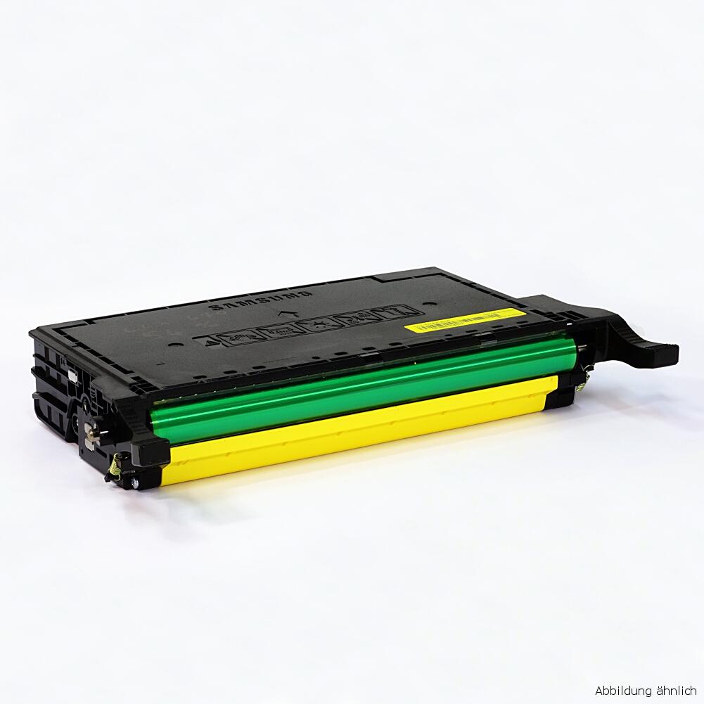 Samsung Original Toner Gelb CLP-Y660B CLP-610 CLP-660 CLX-6210 gebraucht / 75% Toner Füllstand