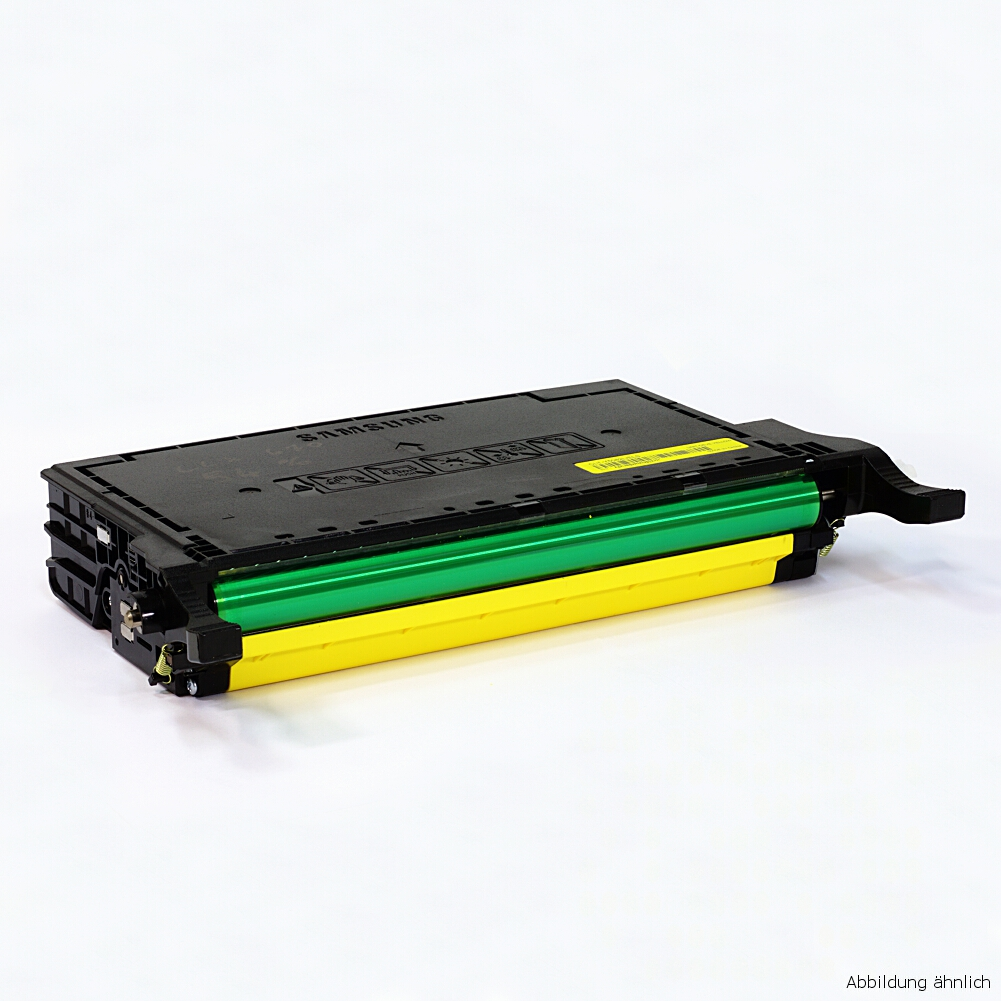 Samsung Original Toner Yellow Gelb CLP-Y660B Drucker CLP-610 CLP-660 CLX-6210 6240 / 95% Toner