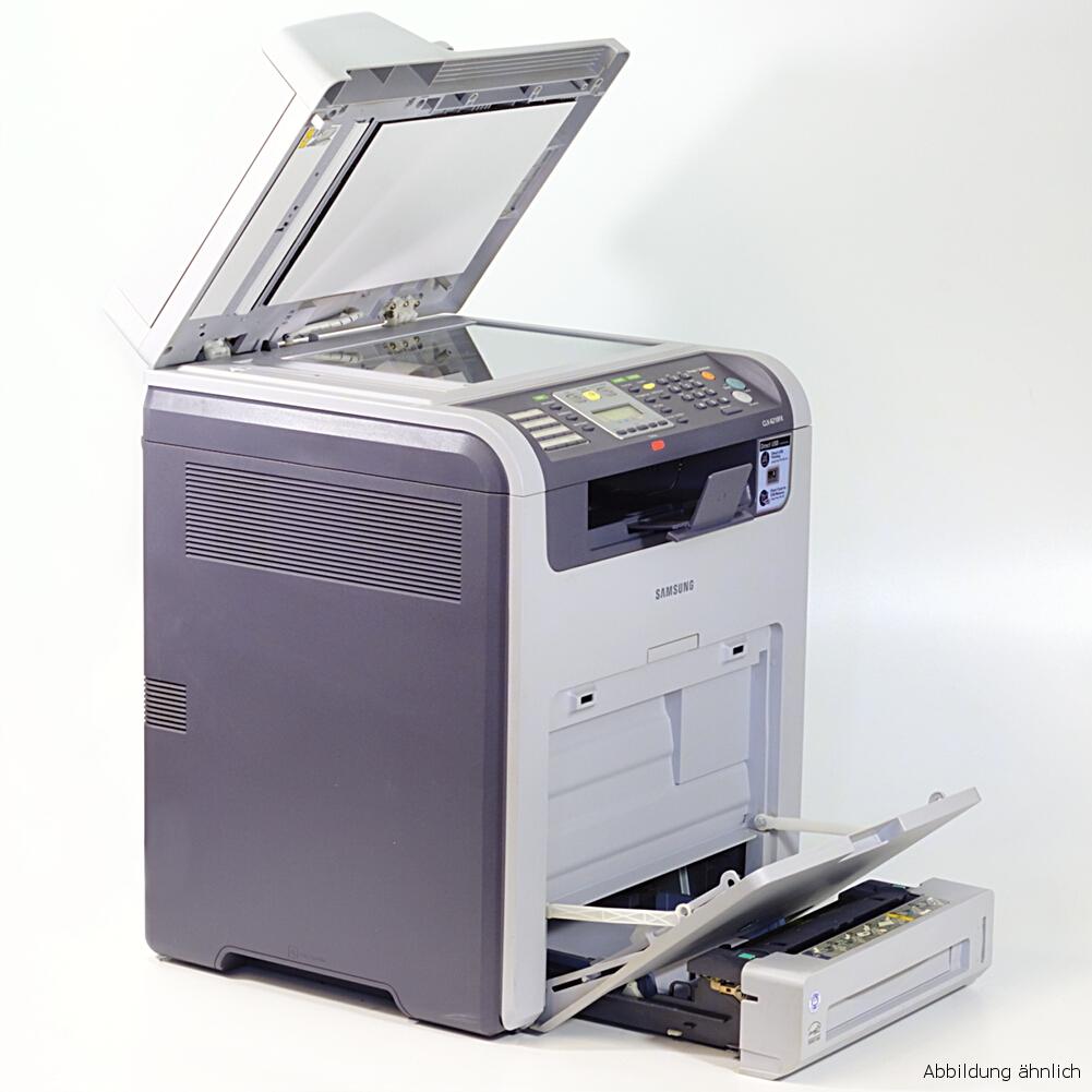 Samsung CLX-6210FX Drucker Laserdrucker Kopierer Scanner Fax  Color gebraucht /  11730 seiten