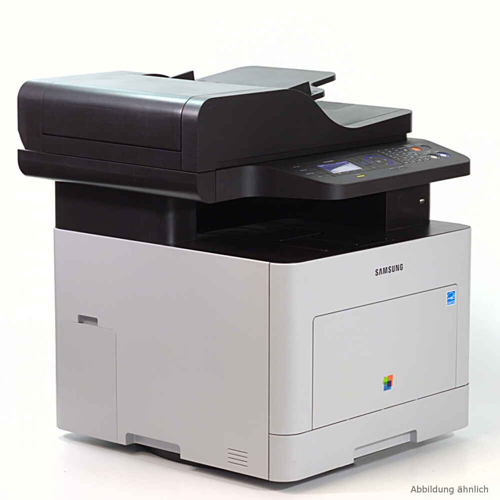 Samsung CLX-6260FR Drucker Laserdrucker Kopierer Scanner Fax Color gebraucht