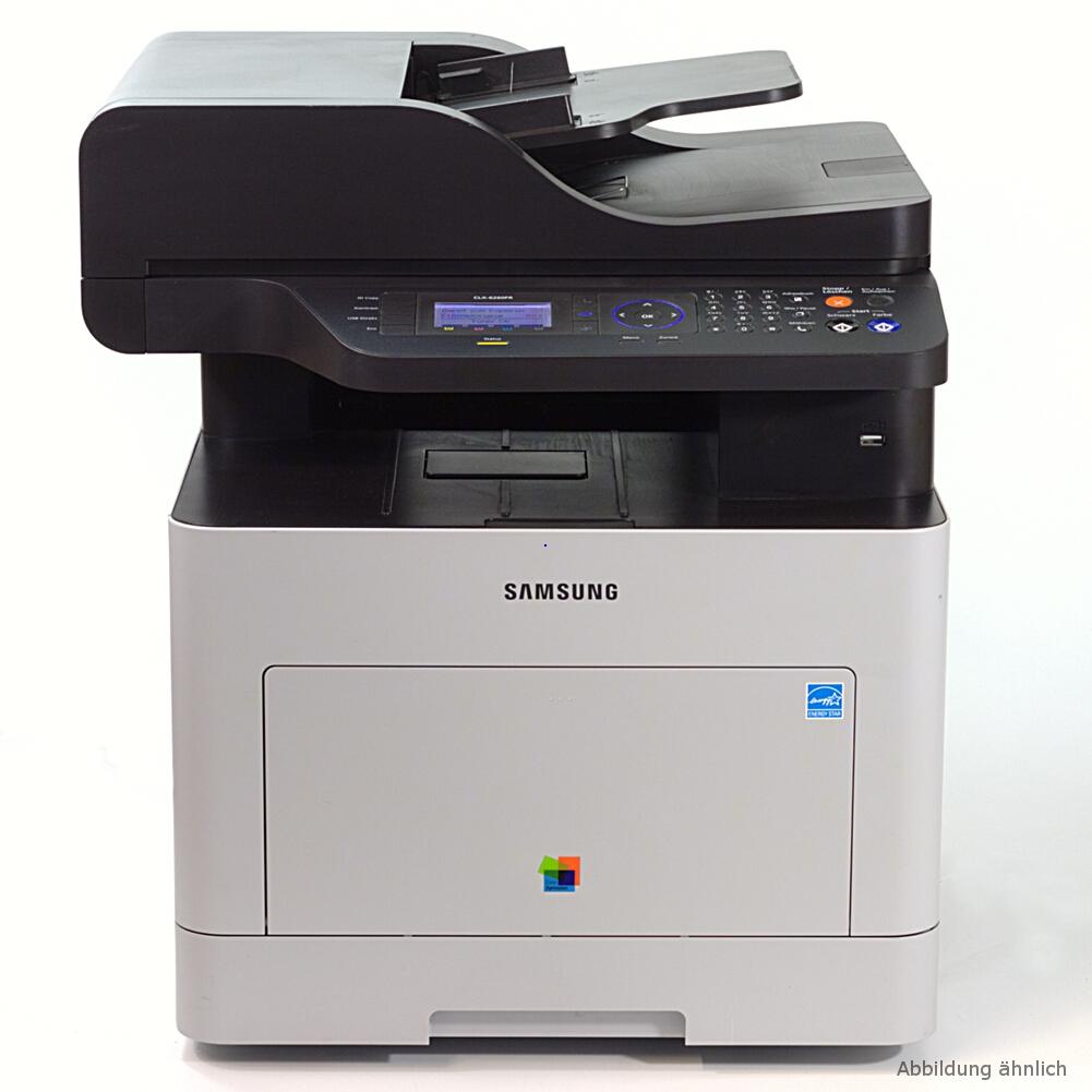 Samsung CLX-6260FR/PLU Drucker Laserdrucker Kopierer Scanner Fax Color gebraucht /  44320 seiten