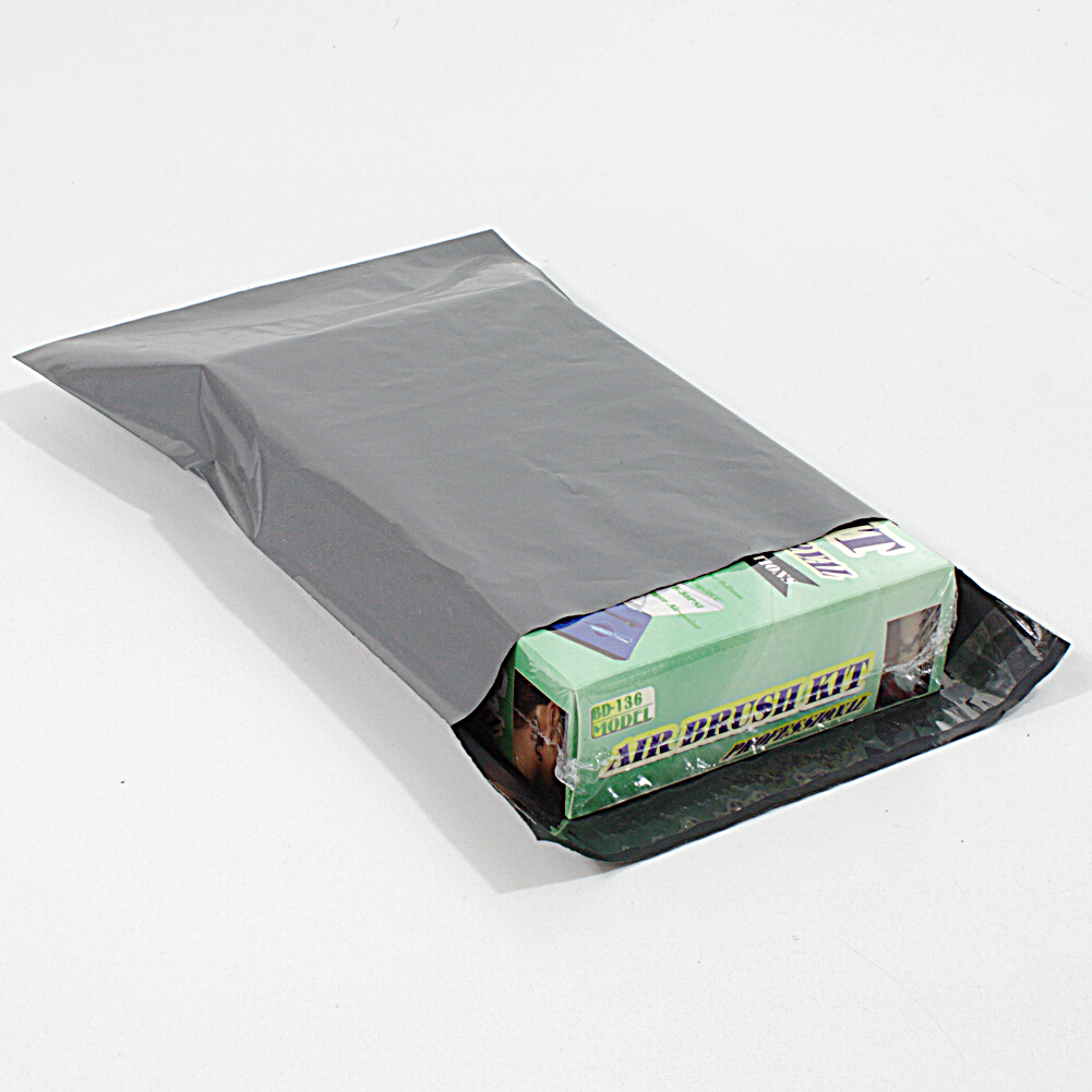 50x Versandbeutel 165x230 mm - Versandtasche Plastik Folie Selbstklebend 16x23 cm