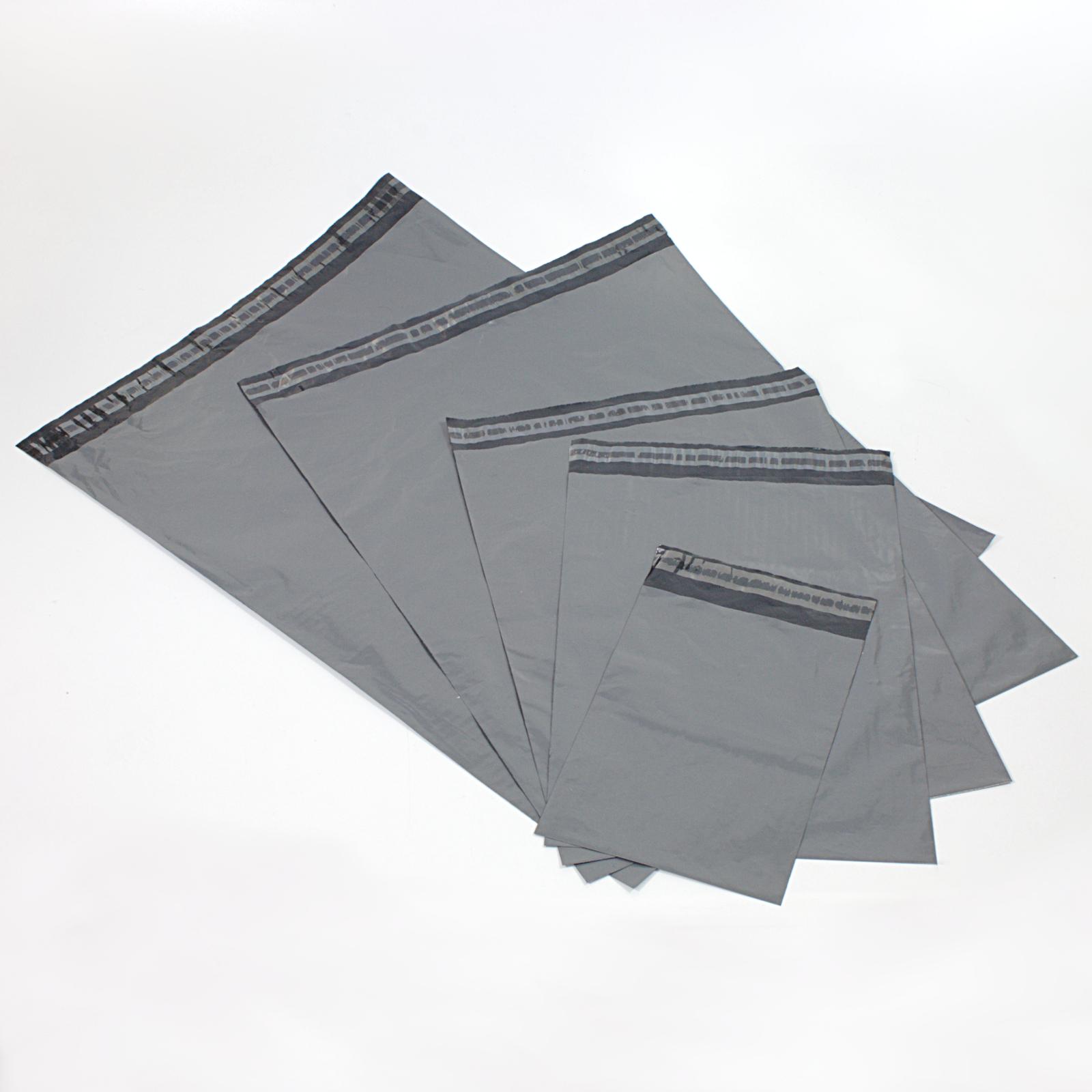 100x Versandbeutel 250x350 mm - B4 Versandtasche Plastik Folie Selbstklebend 25x35cm
