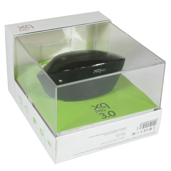 Xqisit Lautsprecher Bluetooth  Box xqPro 3.0 Speaker schwarz