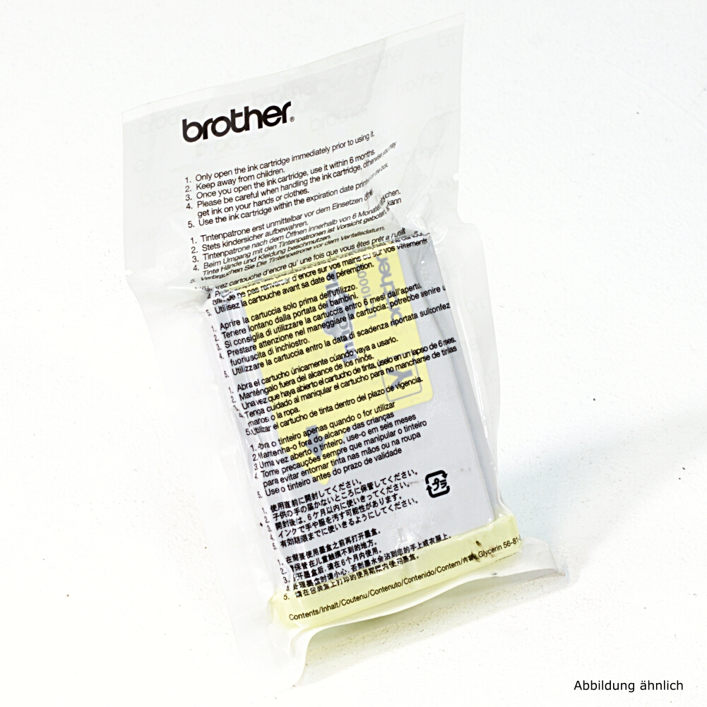 Brother Original Druckerpatrone LC1000Y Yellow Drucker DCP-540CN MFC-5460 MFC-680