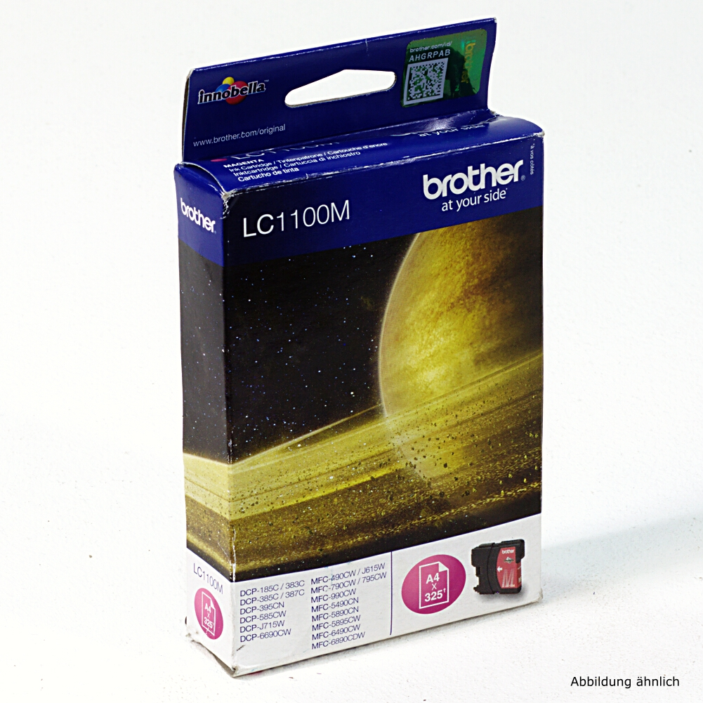 Brother Original Druckerpatrone LC1100M Magenta Drucker MFC-6890 5890 DCP-585C