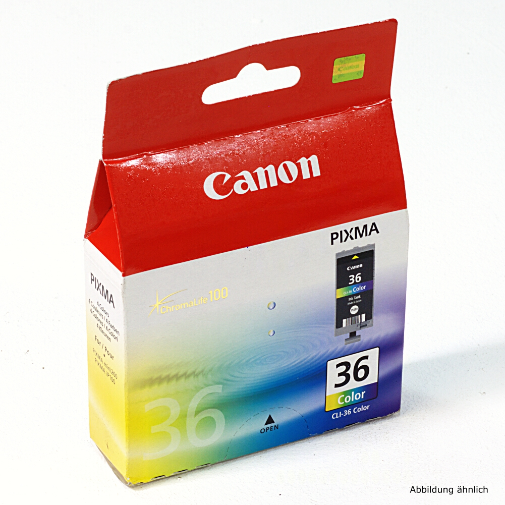 Canon Original Druckerpatrone CLI-36 Color für Drucker iP100 iP100wb