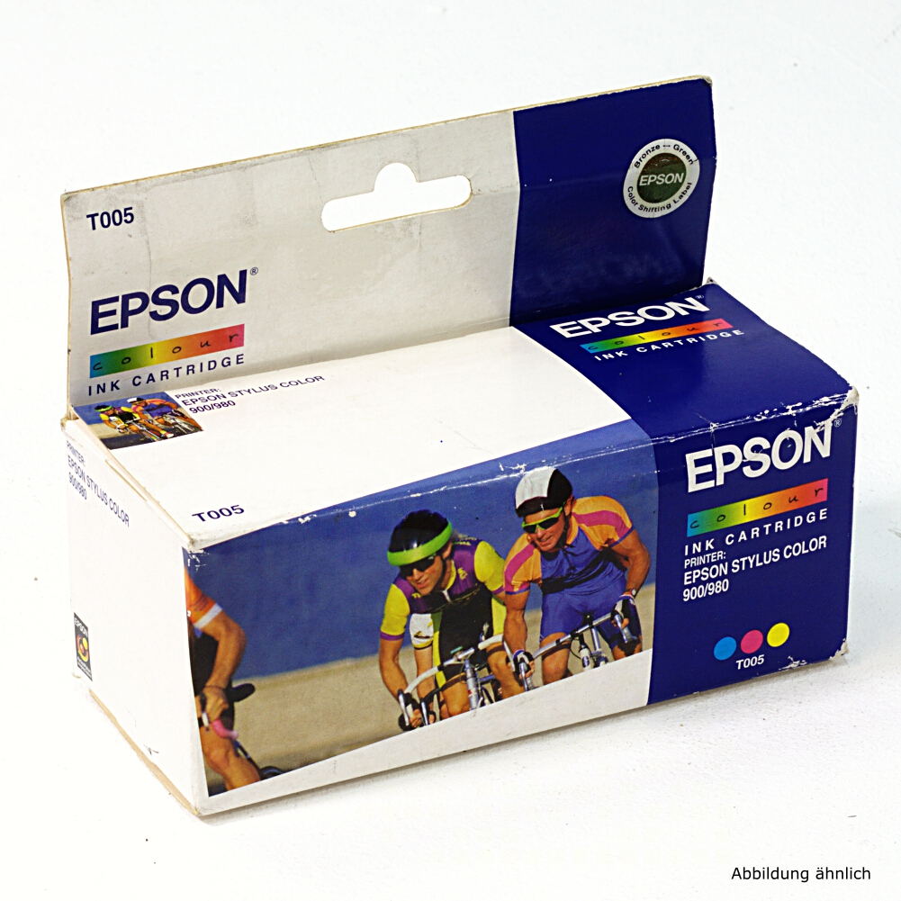 Epson Original Druckerpatrone T005 Color C13T00501110 Drucker Stylus 900 980 980N