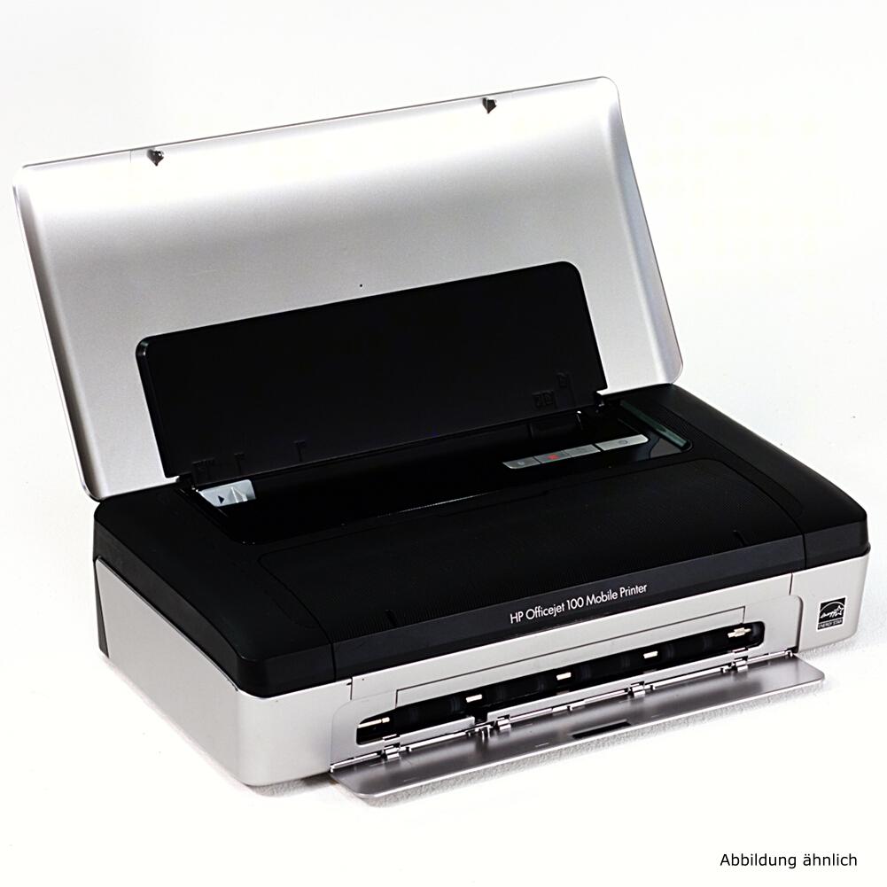 HP Drucker Officejet 100 Mobiler Tintenstrahldrucker  Ersatzteil / defekt