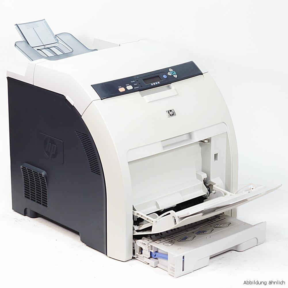 HP Laserjet CP3505N Drucker Laserdrucker Color gebraucht unter 20.000 Seiten gedruckt
